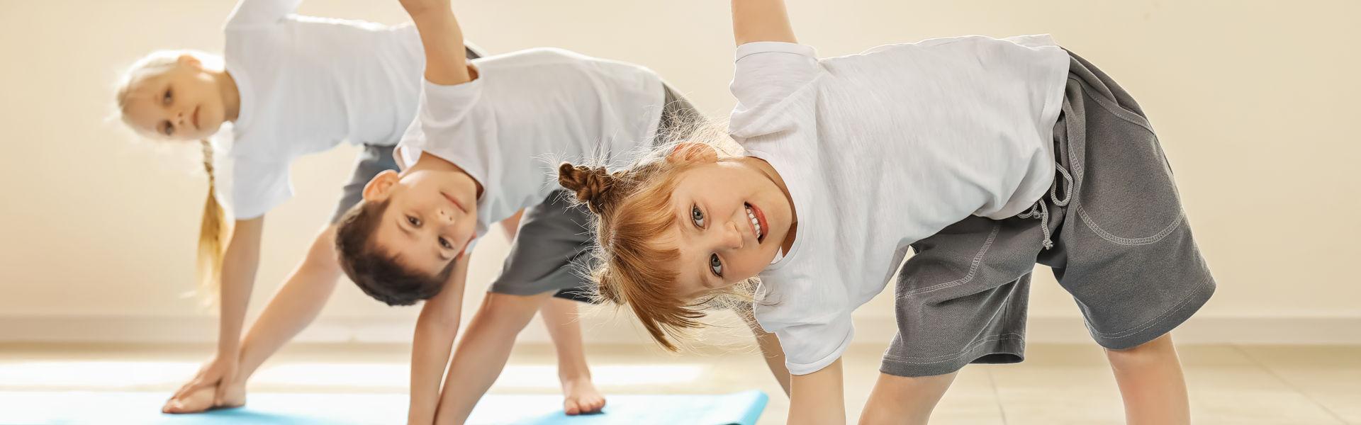 Ich biete Ihnen Kinder Yogakurse in Rostock an.